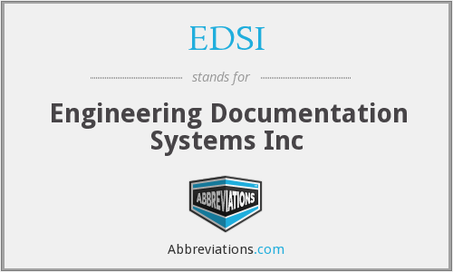 EDSI - Engineering Documentation Systems Inc
