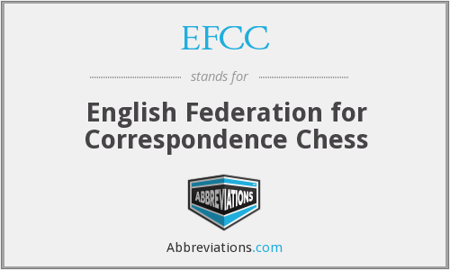 EFCC - English Federation for Correspondence Chess