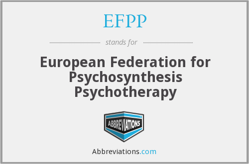 EFPP - European Federation for Psychosynthesis Psychotherapy