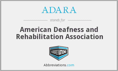 What does ADARA stand for?
