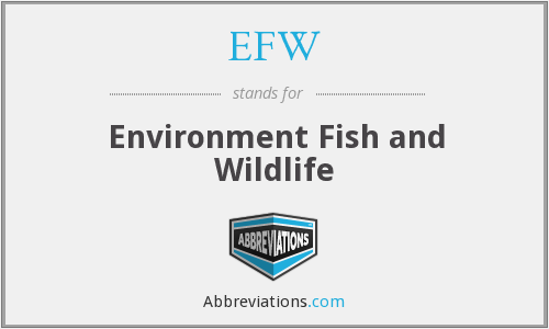 EFW - Environment Fish and Wildlife