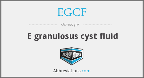 What does EGCF stand for?