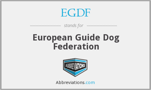 What does EGDF stand for?