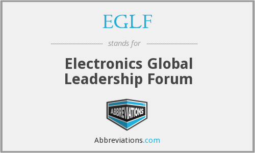 What does EGLF stand for?