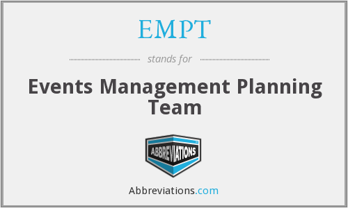What does EMPT stand for?