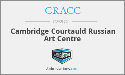 CRACC - Cambridge Courtauld Russian Art Centre