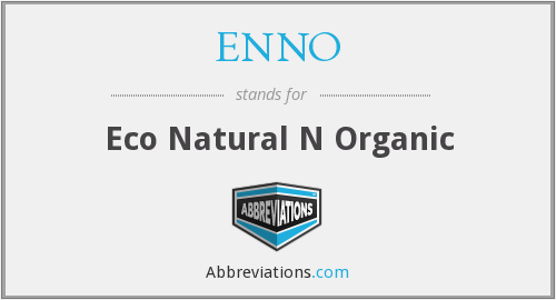 What does ENNO stand for?