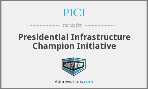What does PICI stand for?