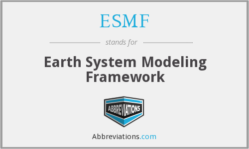 What does ESMF stand for?
