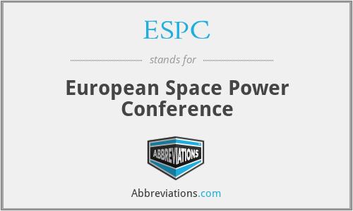 ESPC - European Space Power Conference