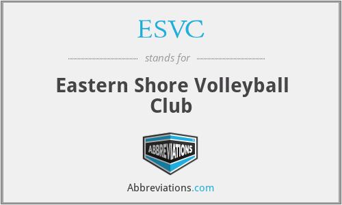 ESVC - Eastern Shore Volleyball Club
