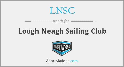 LNSC - Lough Neagh Sailing Club