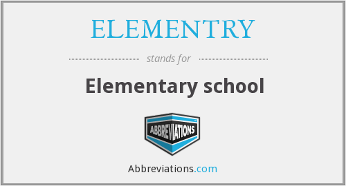 What does ELEMENTRY stand for?
