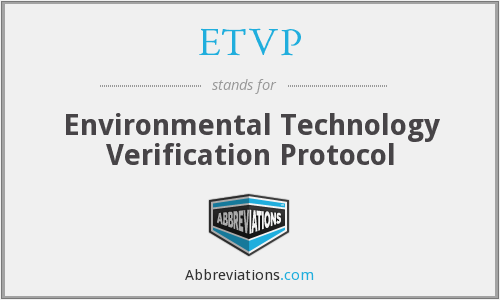 What does ETVP stand for?