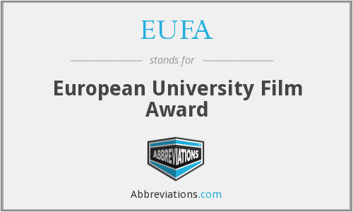 What does EUFA stand for?