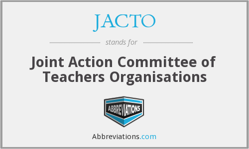 What does JACTO stand for?