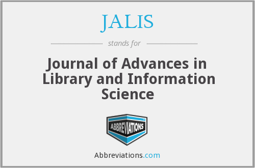 What does JALIS stand for?