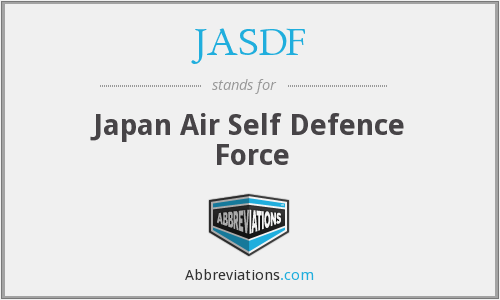 What does JASDF stand for?