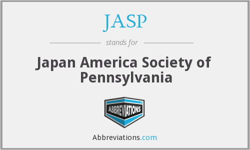 What does JASP stand for?