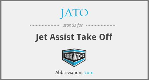 JATO - Jet Assist Take Off
