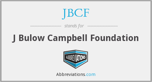 What does JBCF stand for?