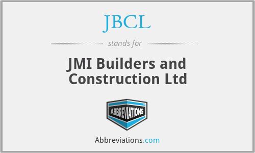 JBCL - JMI Builders and Construction Ltd