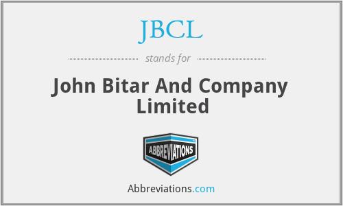 JBCL - John Bitar And Company Limited