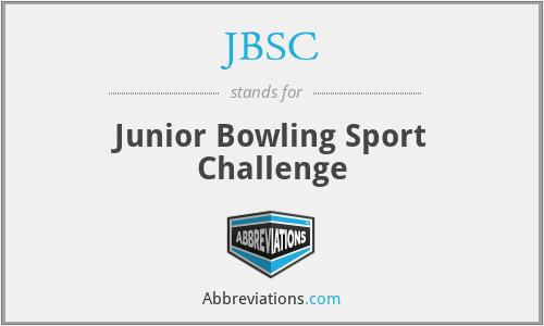 JBSC - Junior Bowling Sport Challenge