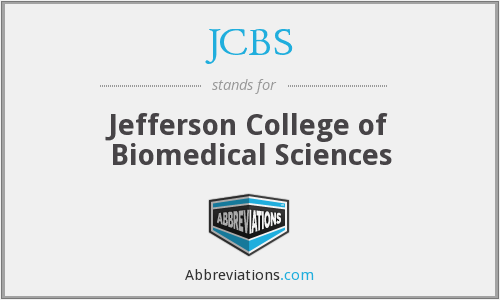 What does JCBS stand for?