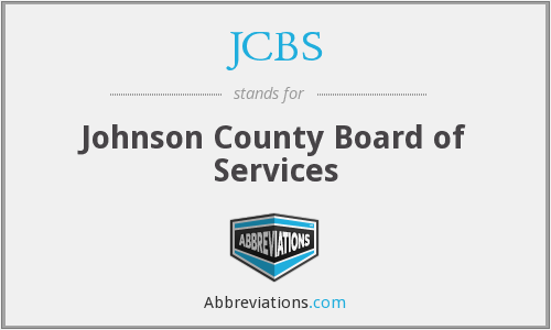 JCBS - Johnson County Board of Services