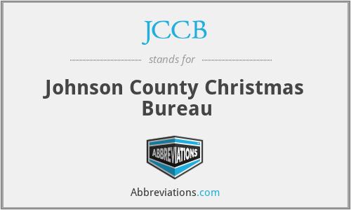 JCCB - Johnson County Christmas Bureau