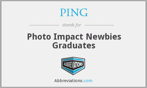 PING - Photo Impact Newbies Graduates