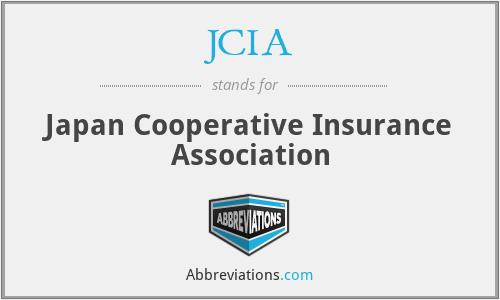 JCIA - Japan Cooperative Insurance Association
