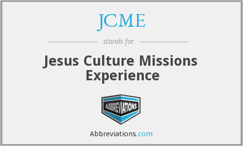 What does JCME stand for?