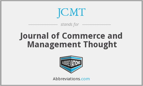 What does JCMT stand for?