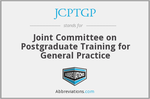 What does JCPTGP stand for?