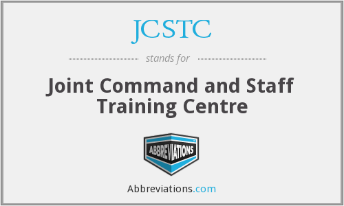 What does JCSTC stand for?