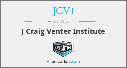 What does JCVI stand for?