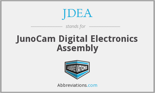 JDEA - JunoCam Digital Electronics Assembly