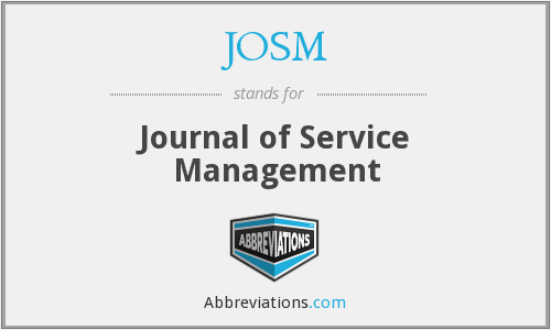 What does JOSM stand for?
