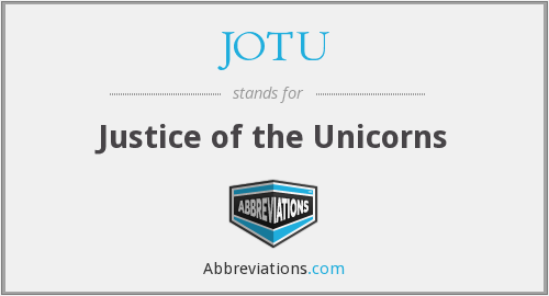 What does JOTU stand for?