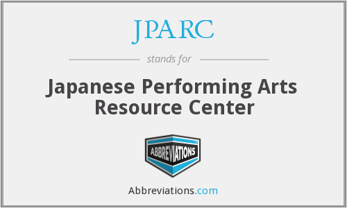 What does JPARC stand for?