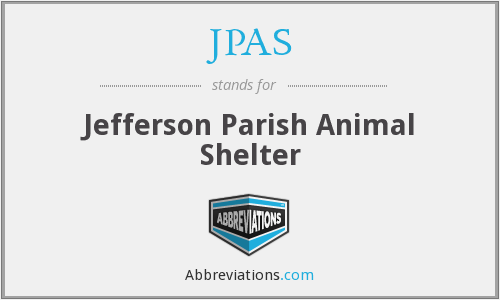 JPAS - Jefferson Parish Animal Shelter