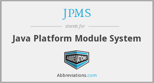 What does JPMS stand for?