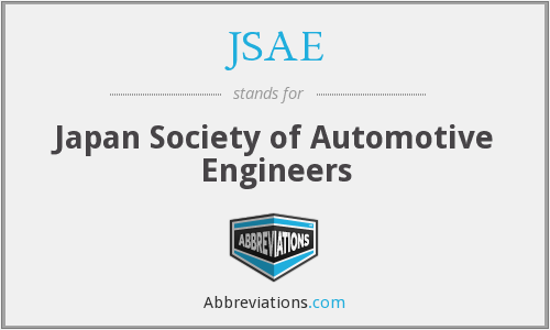 What does JSAE stand for?