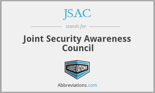 JSAC - Joint Security Awareness Council