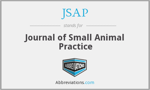 JSAP - Journal of Small Animal Practice