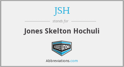 JSH - Jones Skelton Hochuli