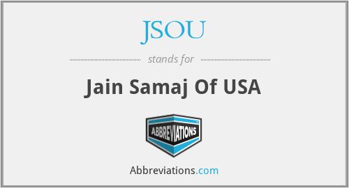 JSOU - Jain Samaj Of USA