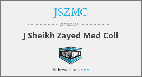 What does JSZMC stand for?